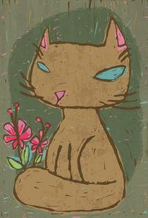 LinoCat by Eulalia Mejia