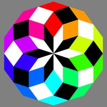Decagon-crazy-color-puzzle