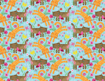 Kitties Pattern by Eulalia Mejia