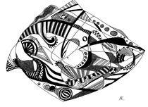 Parrot fish by Anastasiya Korovina