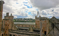 Linlithgow Palace Ariel View by Buster Brown Photography