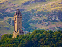 The Wallace Monument, Stirling by Buster Brown Photography
