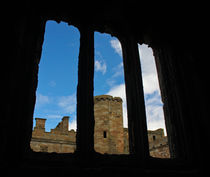 Linlithgow Palace Windows by Buster Brown Photography