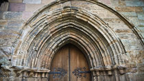 Dunblane Cathedral Rear Door by Buster Brown Photography