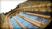 Dunblane Cathedral Window von Buster Brown Photography