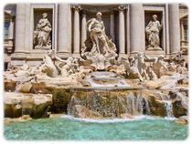 Fontana di Trevi by Buster Brown Photography