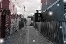 Starlight on Old Town Alleyway by Gracio Permata