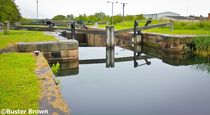 Lock 4, Forth and Clyde Canal, Falkirk. by Buster Brown Photography