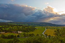 Skies over Stirlingshire von Buster Brown Photography