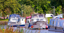 Boats on the Canal by Buster Brown Photography
