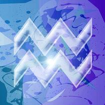 Zodiac series - Aquarius by William Rossin