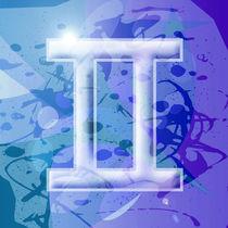 Zodiac series - Gemini by William Rossin
