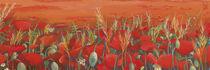 Poppy field by Katia Levkova