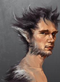 Werewolf by Zsuzsanna Tasi