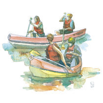 Canoeing von Katia Levkova