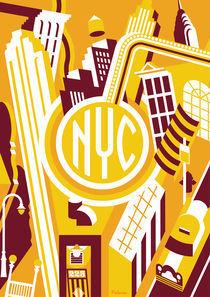 nyc by Daniel Pelavin