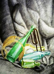 still bottle art von green0pencil