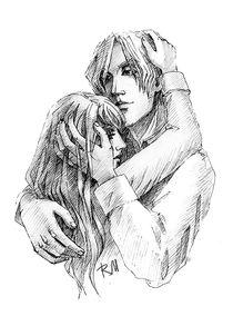 hug by Irina  Ganina