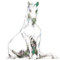 Sitting horse by Kuizin studio