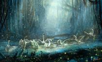 Swan Lake by zhi Jiang
