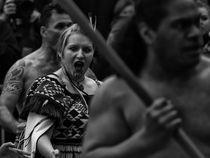 P?whiri [maori welcome] - series N.2 by dennis william gaylor