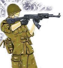 Soldier von Oliwia Grambo