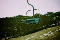 Ski Lift at Thredbo by Tim Leavy