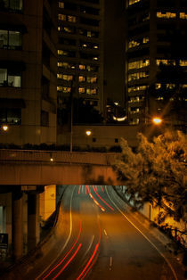 Sydney Car Lights by Tim Leavy