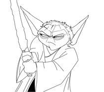 Yoda von David  Fernandes