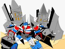 Optimus prime  by David  Fernandes