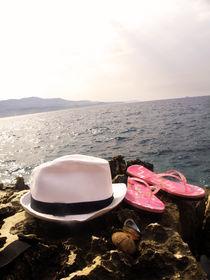 Summer in Ksamil by Julie Aleksovska