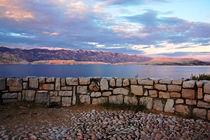 Kroatische Abendstimmung - Insel Pag von captainsilva