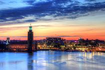 Skymning i Stockholm by Gustavo Oliveira