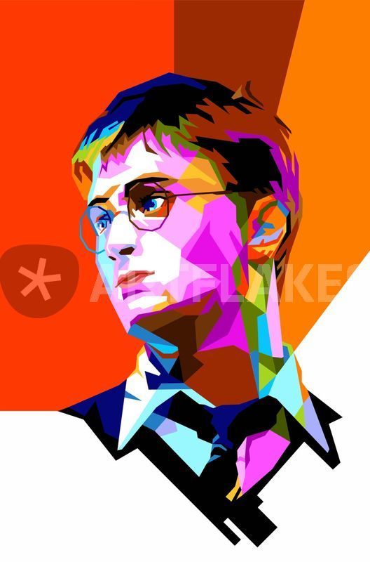 HP Pop Art Poster Graphic Illustration Prints And Posters By
