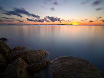 Adriatic sunset. by Ivan Coric