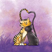 Schmusekatzen von Michael Vogt