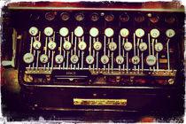 Enigma - Typewriter II von Sybille Sterk