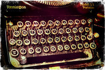 Enigma - Typewriter IV von Sybille Sterk