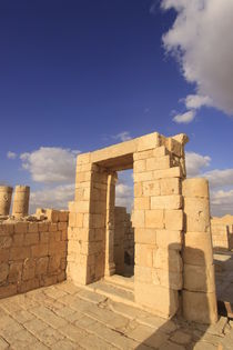 Negev, the Nabatean Temple in Avdat von Hanan Isachar