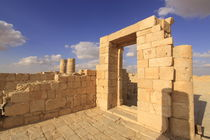 Negev, the Nabatean Temple in Avdat by Hanan Isachar