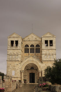 Church of the Transfiguration on Mount Tabor von Hanan Isachar