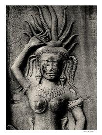 Apsara at Angkor Wat (2) von Eric deVries