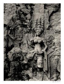 Apsara at Angkor Wat von Eric deVries