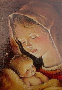 Madona Icon by Apostolescu  Sorin