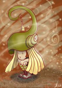 Snailcocoon girl von Eszter Fézler