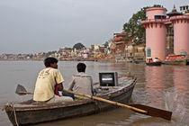 Varanasi on TV by Arquimides Espiritu