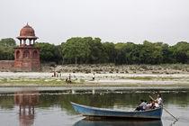 Yamuna river by Arquimides Espiritu