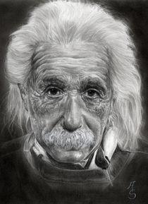 Albert Einstein von Angelica Stanton