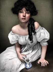 Portrait of a Woman 1902 von Alfredo  Saavedra