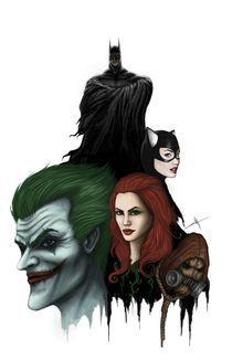 Batman poster von Emanuel Sandu